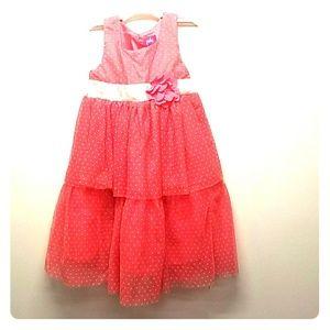 Kids Coral Dress